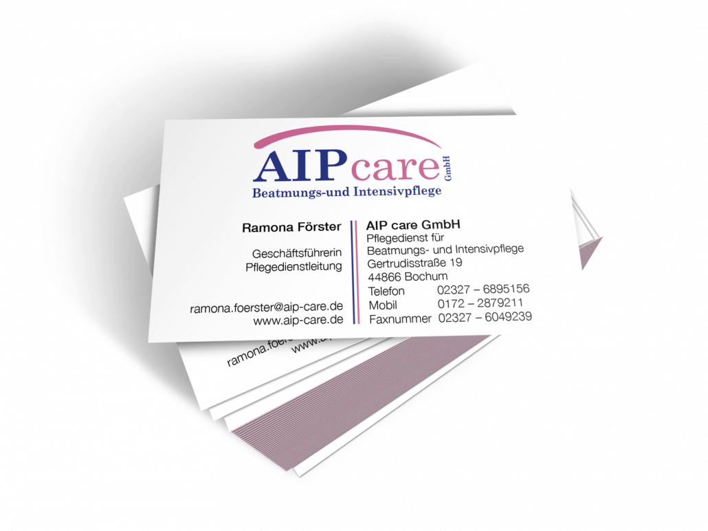 AIP Care Visitenkarte