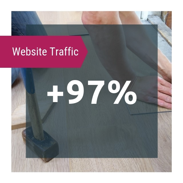 Website Traffic Steigerung - Case Study